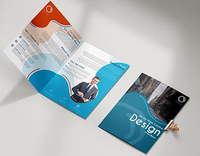 A4 Two-Fold Brochure