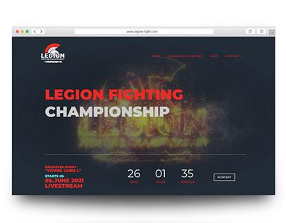Website Legion Fighting Championship 2021