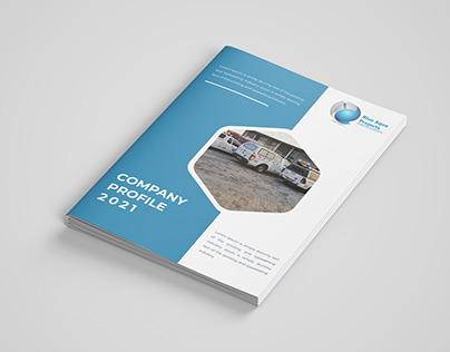Company Profile Brochure Design Template Free Download