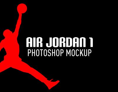 AIR JORDAN 1 MOCKUP