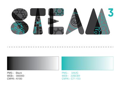 STEAM3 Logo and Promo Design