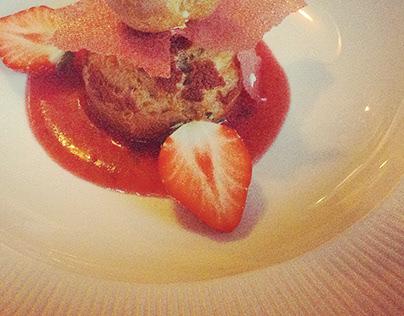 Divers desserts réalisés pour des restaurants