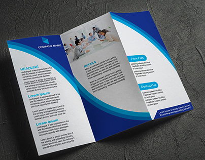 Tri-fold Flyer Design 6 pages