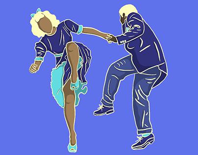 Lindy hop moves