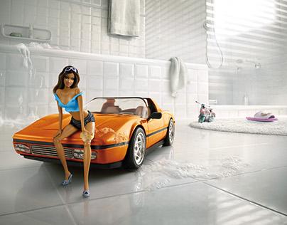 Motor Show - Barbie