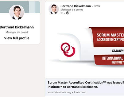 Scrum Institute Certified Scrum Master Programs