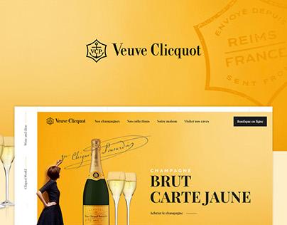 Redesign  Veuve Clicquot