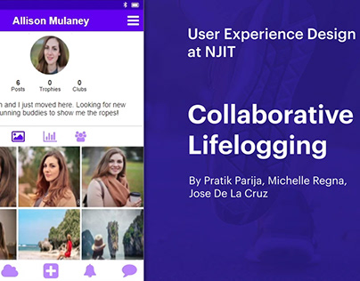 Collaboration Lifelogging - User Experience Design