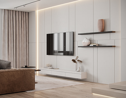 """Apartment in Moscow ZHK """"SPEDA"""""""