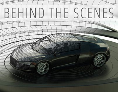 Behind the scenes of the projection mapping test