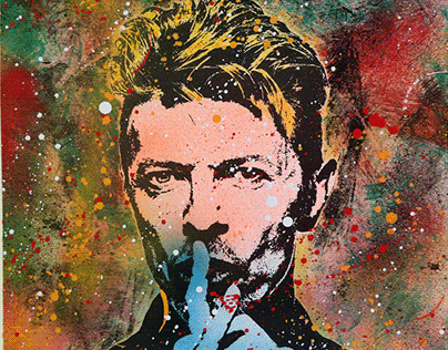 BOWIE - MIXED MEDIA 2020