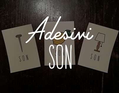 Adesivi / figurine SON