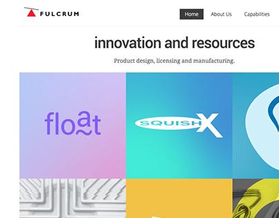 Fulcrum PD Website design