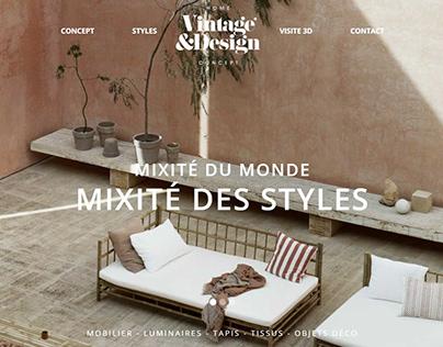 website - VINTAGE&DESIGN