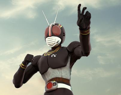 Masked Rider - kamen Black Rider
