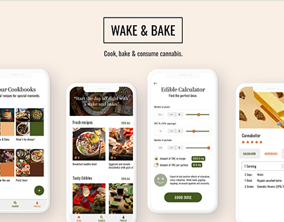 Wake & Bake Cannabis Cookbook App
