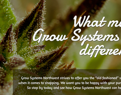 Grow System Northwest Website Design