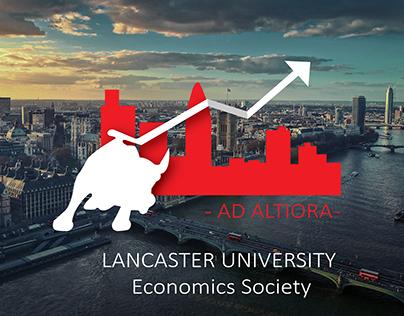 Lancaster University Economics Society Card Design