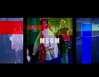 MSGM Instagram Takeover