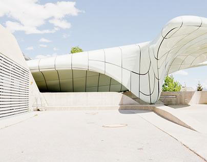 Hungerburg Funicular / by ZAHA HADID