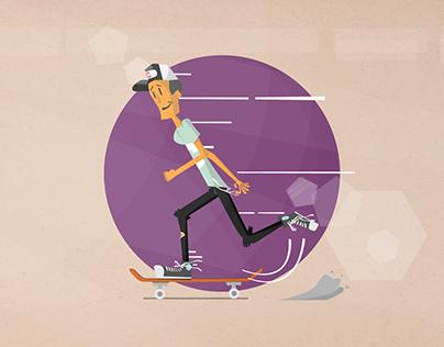 Go and skate!