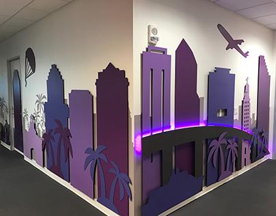 Miami Skyline Installation