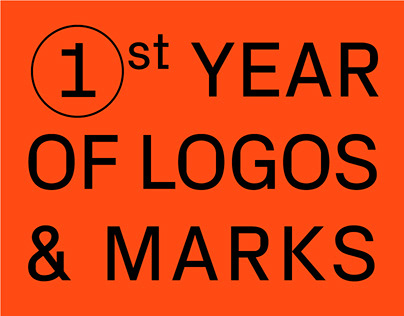 One Year of Logos & Marks
