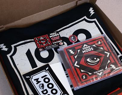 1000mods' Vultures pizza box