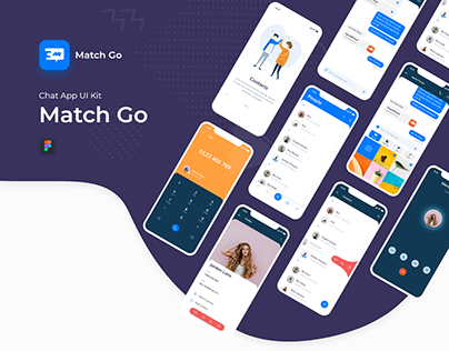 Match Go - Chap App UI Kit