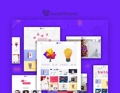 Agency / Personal Portfolio WordPress Theme