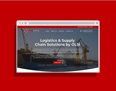OneLinq Logistic & Supply Chain Solution Web UI/UX