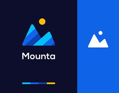 Mounta Logo Design ( Abstract Mountain )