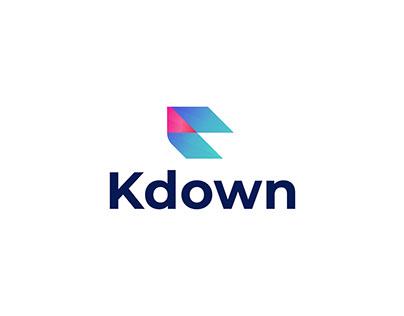 K Modern Logo Design - Brand Identity - Logo Branding