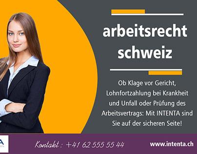 arbeitsrecht schweiz
