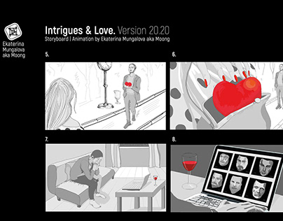 Intrigue&Love. Animation by Ekaterina Mungalova (Moong)