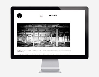 DDA Studio website