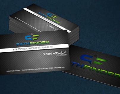 Pathfinder business card