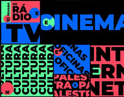 XI Semana de Rádio e TV - Campaign Visual Identity