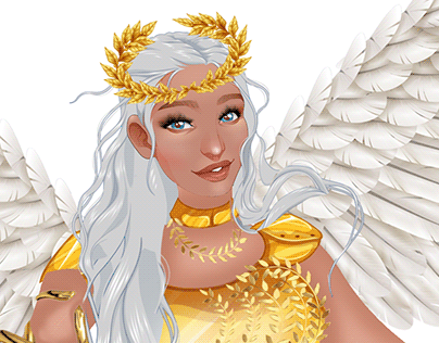 Goddess Athena inspired dress