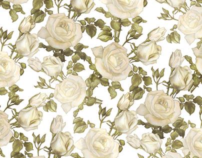 Róże - projekt paternu