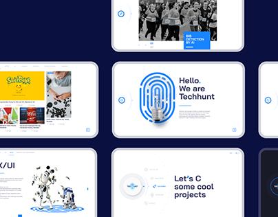 Techhunt Website
