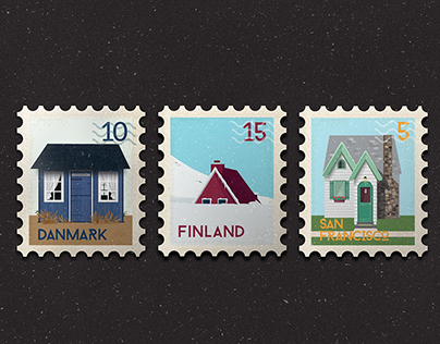 Tiny Houses | Stamps