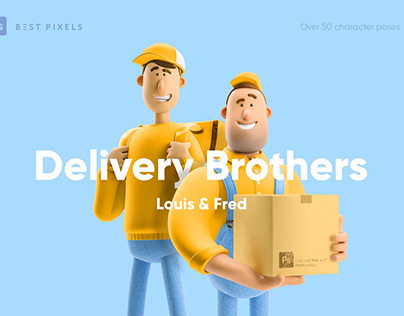 Delivery Brothers Set