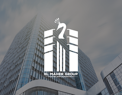 El Maher Group Logo Design