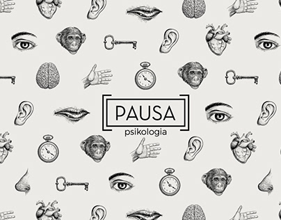 Branding, identidad visual, web. Pausa Psikologia