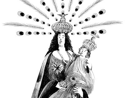Madonna delle galline - holy picture