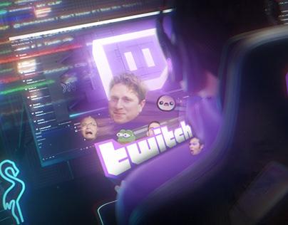 Twitch 3d concept // non-commercial