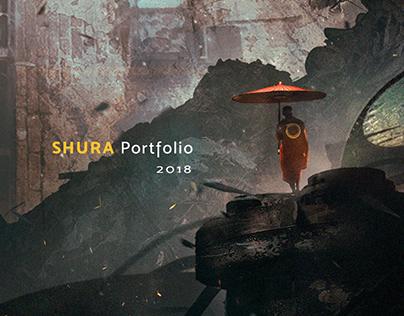 Shura Porfolio ▏黃煜修作品集 2018