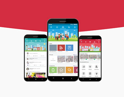 UI Design for Nebour App