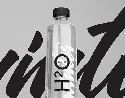 Pure H2O / Limited edition Bottle